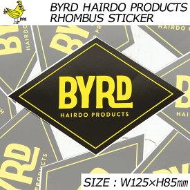 BYRD バード BYRD HAIRDO PRODUCTS RHOMBUS STICKER ステッカー 2097008