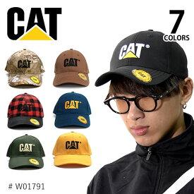 キャット /CAT/CATERPILLAR キャタピラー TRADEMARK CAP W01791 帽子 メンズ レディース サイズ調節可能 ストラップバック キャップ フリーサイズ 人気 7color /あす楽