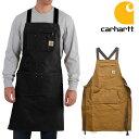 カーハート/carhartt 102483(103439) Firm Hand Duck Apron ダックエプロン BROWN エプロン ポケット 大工 作業...