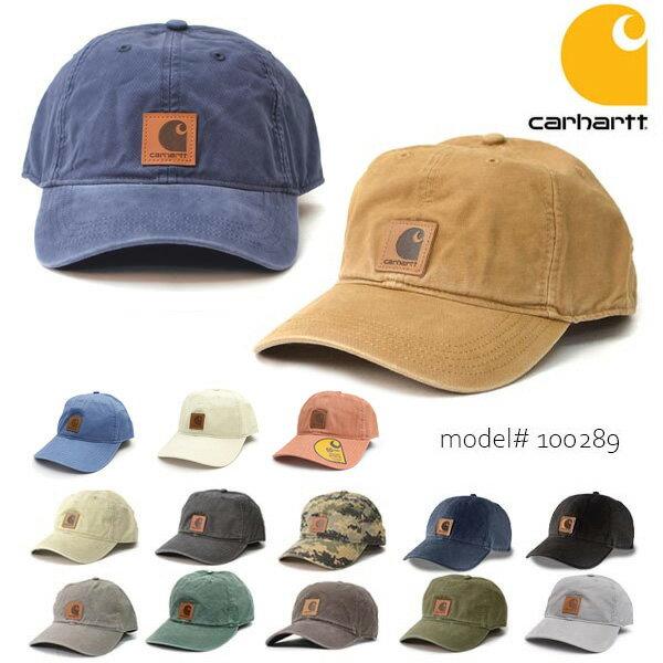 カーハート/carhartt 100289 ODESSA Cap Men's, Cotton Canvas Hat コットン キャップ カジュアル メンズ レディース 新色追加!! 帽子【メール便発送のみ送料無料】