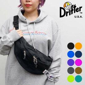 Drifter/ドリフター/WAIST PACK ボディバッグ ウエストパック ウエストバッグ BAG 5color ファニーパック ウエストポーチ 旅行 アウトドア フェス バッグ カバン 鞄 ナイロン メンズ レディース /ネコポス発送のみ送料無料