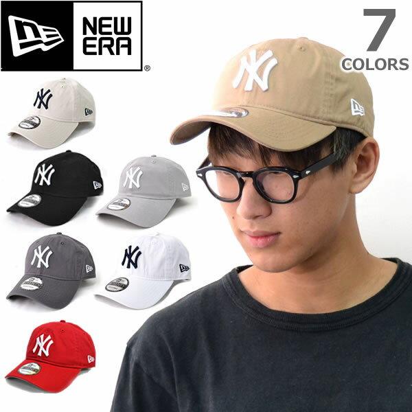 ニューエラ【NEW ERA】9TWENTY 920 ニューヨーク・ヤンキース ブラック ホワイト チャコール キャメル ベージュ 帽子 メンズ レディース【あす楽】