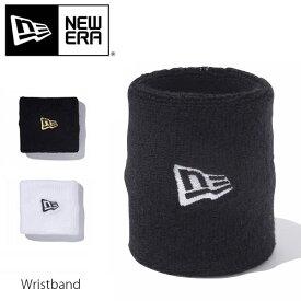 ニューエラ【NEW ERA】Wristband リストバンド スポーツ パイル ロゴ ブラック ホワイト メンズ レディース ダンス 【ネコポス発送のみ送料無料】
