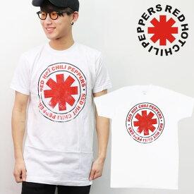 レッド・ホット・チリ・ペッパーズ/Red Hot Chili Peppers BASIC WHITE ホワイト ベーシック Tシャツ ロックT バンドT ヒップホップ ロゴT 正規品 本物 サマソニ【ネコポスのみ送料無料】