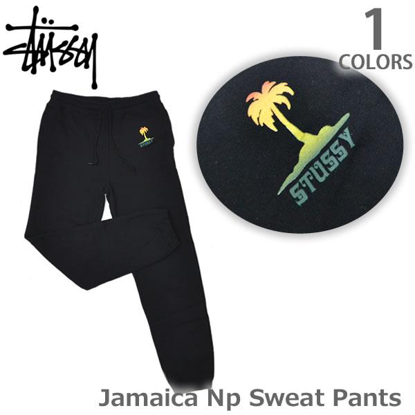 ステューシー/STUSSY 2951035 Jamaica Np Sweat Pants レディース スチューシー スウェット パンツ stussy ボトム BLACK 人気【あす楽】