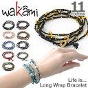 wakami/ワカミ WA0293 Life is what... アンクレット メンズ レディース ペア 小物 ユニセックス アクセサリー Bracelet ...
