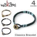 wakami/ワカミ ワカミ WA9531 Classic Bracelet アンクレット メンズ レディース ペア 小物 ユニセックス アクセサリ…