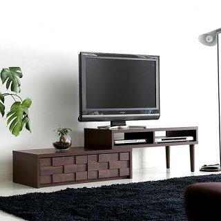 テレビボードTV台TVボード完成品AVボードテレビラックTVラックAVラック国産日本製伸縮アルダー無垢材無垢収納