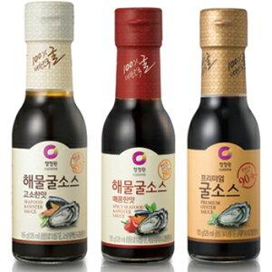 清浄園 海鮮 オイスターソース 香ばしい味 250g カキ ソース チョンジョンウォン 韓国 食品 食材 料理 調味料