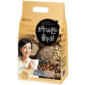 【送料無料】ダムト くるみ茶 50包 2袋 はと麦 くるみ アーモンド 松の実 韓国 食品 食材 料理 健康茶 韓国お土産 伝統茶 お土産 お中元