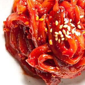 【冷凍便】いか チャンジャ 500g 手作り 無添加 本場の味 国内生産 韓国 食品 食材 料理 おかず おつまみ