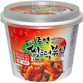 松鶴 即席 米トッポキ カップ 210g 韓国 料理 食品 食材 トッポキ トッポギ トッポッキ おやつ お餅 インスタント