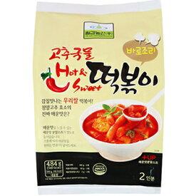 唐辛子 スープ トッポギ 484g 韓国 料理 食品 食材 トッポキ トッポギ トッポッキ おやつ お餅 インスタント