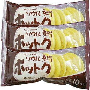 【冷凍便】ソウル 手作り ホットク 70g 10枚入 韓国 料理 食品 食材 ホトク 冷凍食品 お菓子 スナック おやつ