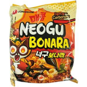 【送料無料】農心 ノグボナーラ 10袋 韓国 食品 料理 食材 インスタント ラーメン ノグリ カルボナーラ カルボ のぐぼなら お土産 非常食
