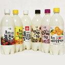 【送料無料】フレーバー 果物 マッコリ お買得 6本入りセット韓国食品 韓国食材 韓国料理 韓国食品 お酒 韓国お酒 お…