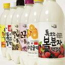 【送料無料】6種から 選べる 果汁 マッコリ 6本 韓国食品 お酒 マッコリ 果物マッコリ 韓国お酒 お米酒 フルーツマッコリ