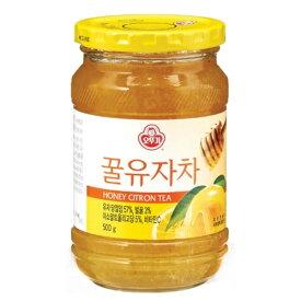 オットギ 蜂蜜 ゆず 茶 500g 韓国 食品 食材 料理 伝統茶 健康茶 韓国飲料 ドリンク ゆず 茶