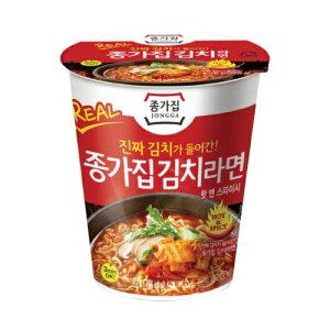 宗家 キムチ カップ ラーメン ミニ 85g 韓国 料理 食品 インスタント ラーメン 乾麺 らーめん