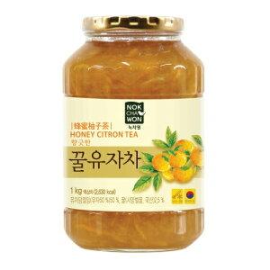 緑茶園 具たっぷり はちみつ ゆず 1kg 韓国 食品 食材 料理 伝統茶 茶 韓国飲料 ドリンク 柚子 蜂蜜