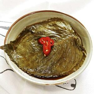 【冷蔵便】自家製 ゴマの葉 醤油漬け 200g キムチ 本場の味 韓国 食品 食材 料理 おかず おつまみ