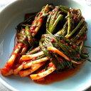 国内生産 手作り ウリ 万能葱キムチ 500g ねぎキムチ 新鮮 無添加 本場の味 韓国 食品 食材 料理 おかず おつまみ