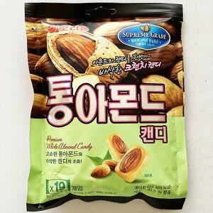 ORION アーモンド キャンディー 19個入り 90g 韓国 食品 料理 食材 お菓子 オリオン デザート アーモンド丸ごと