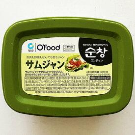 チョンジョンウォン ズンチャン サムジャン 170g 韓国 食品 食材 料理 調味料 韓国合わせヤンニョム味噌 焼肉用たれ ソース 豚バラ サンギョッサル