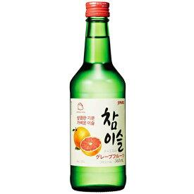 チャミスル グレープフルーツ 360ml 13% ザモン 韓国 ドラマ 定番 食品 食材 料理 お酒 業務用 焼酎 甲類 リキュール ソジュ