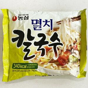 【送料無料】農心 イワシ カルクッス 98g x 10袋 ノンフライング 340kcal 韓国 食品 食材 インスタント ラーメン さっぱりとした辛さ 乾麺 非常食