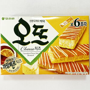 ORION オット ソフト ケーキ チーズ味 6個入り 144g デンマーク産 カマンベールチーズ入り 韓国 食品 料理 食材 お菓子 オリオン