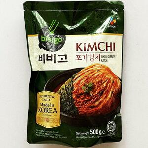韓国 ビビゴ 白菜 キムチ 500g 白菜キムチ 韓国 食品 食材 料理 おかず おつまみ bibigo