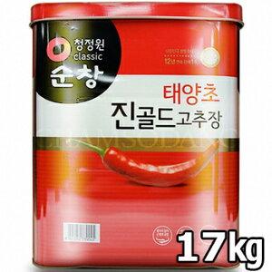 【送料無料】業務用 スンチャン コチュジャン 17kg 韓国 食品 味噌 料理 唐辛子 辛味噌 辛みそ キムチ 調味料 ソース