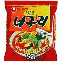 農心 ノグリラーメン 5個 韓国料理 韓国土産 インスタントラーメン 辛い ノグリうどん 韓国 ラーメン