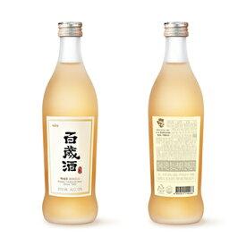 【送料無料】麹醇堂 百歳酒 375ml 20本 ベクセジュ 韓国 食品 料理 食材 伝統酒 薬草 高麗人参 米酒 酒