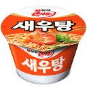 農心 海老湯 セウ湯 カップ ラーメン 115g 1個 エビ カップ麺 海老 えびカップラーメン セウタン 韓国 防災用 非常食 話題商品