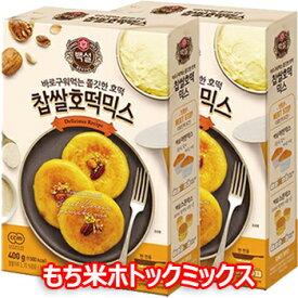 白雪 もち ホトック ミックス 400g ホットック 韓国 食品 お菓子 菓子 スナック おやつ