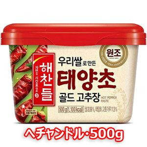 ヘチャンドル コチュジャン500g 日テレ ZIP 寿司 韓国料理 韓国食材 調味料 韓国ソース 唐辛子 コチュジャン スパイス カプサイシン 辛味