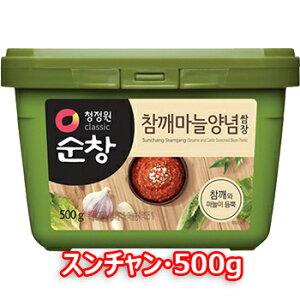 スンチャン サムジャン 500g 韓国食品 韓国食材 味噌 韓国味噌 焼肉用たれ ソース 豚バラ サンギョッサル