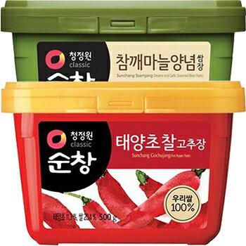 【送料無料】スンチャンサムジャン+コチュジャン日テレZIP韓国食品韓国食材味噌韓国味噌焼肉用たれソース豚バラサンギョッサル