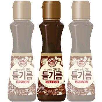 えごま油 320ml 100% 1本 ヘピョ えごま油 エゴマオイル オメガ3 韓国 食品 料理 調味料 胡麻油 健康食材