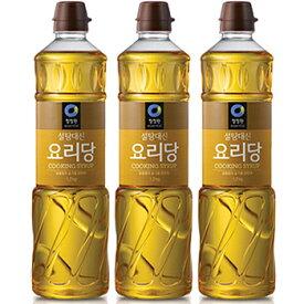 【送料無料】清浄園 料理糖 700g 3本 瑞々しい仕上げが必要なお料理にどうぞ 韓国 水あめ 食品 食材 料理 調味料