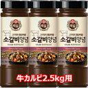 白雪 牛 カルビ タレ 500g お肉約2.5kg用 牛肉 ソース たれ 焼肉 韓国 食品 食材 料理 調味料 牛カルビタレ