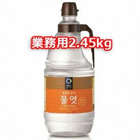 清浄園 水飴 2.45kg とうもろこし 澱粉 100% 低カロリー 甘味料 水あめ 韓国 食品 食材 料理 調味料