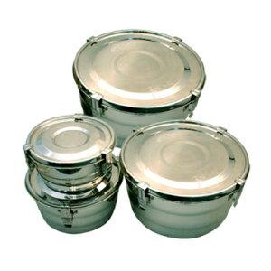 【キムチ専用保存容器 小16cm×8cm】ステンレス容器 韓国雑貨/韓国産/韓国食器