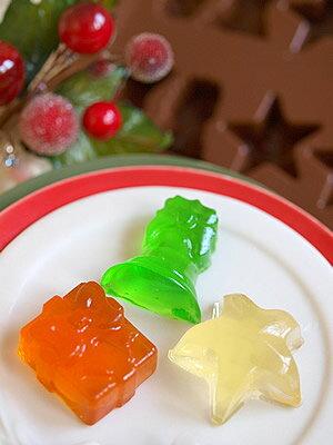 【シリコマートSilikomart】【チョコレート型】シリコンモールド・CHRISTMAS【シリコンゴム型】EASYCHOCOイージーチョコ