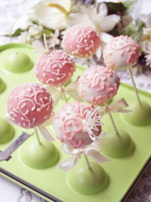 【ケーキ型】ボンボンポップ型天板【テフロン(フッソ)加工】
