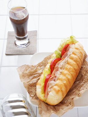 【パン型】コッペパン型【ブリキ】