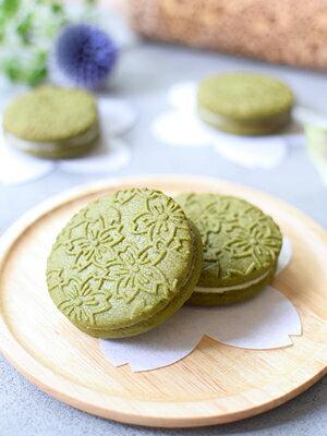【まじまやレシピ】抹茶ホワイトチョコサンドクッキー