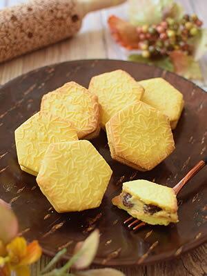 【まじまやレシピ】パンプキンレーズンサンドクッキー